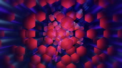 Disco hexagonal stick Stock Footage