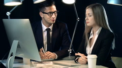 Business Dealings Stock Footage
