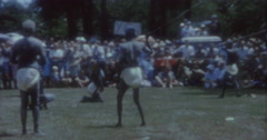 Aborigines Dance 60s Australia Sydney 10 Stock Footage