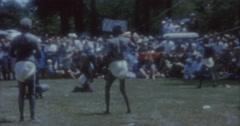Aborigines Dance 60s Australia Sydney 10 - stock footage