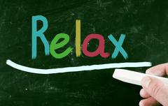 relax concept - stock photo