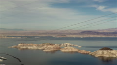 Lake Mead 2015. 4K UHD. Stock Footage
