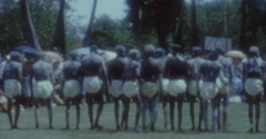 Aborigines Dance 60s Australia Sydney 8 Stock Footage