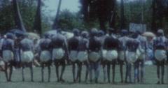 Aborigines Dance 60s Australia Sydney 8 - stock footage