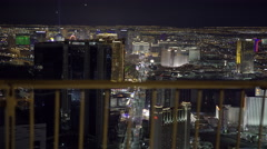 Las Vegas Strip in 4K UHD. Stock Footage