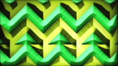 Tropical Rows, Vertical Displacement Stock Footage