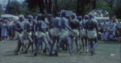 Aborigines Dance 60s Australia Sydney 7 Stock Footage
