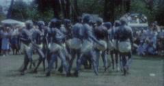 Aborigines Dance 60s Australia Sydney 7 - stock footage
