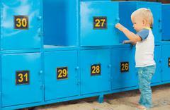 Safety box - stock photo