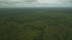 Stock Video Footage of Ariel shot of riverine swamps Port Harcourt