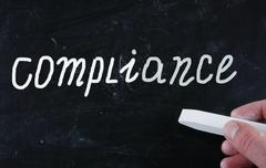 compliance concept - stock photo