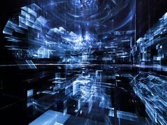 Future Industry Stock Illustration
