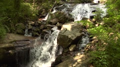 Amicaclola fall State Park in dawsonville Georgia USA Stock Footage