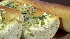 Garlic Baguette (not loopable) - stock footage