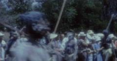 Aborigines Dance 60s Australia Sydney 6 - stock footage