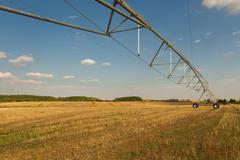Sprinkler Irrigation System - stock photo