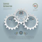 Automation Infographic Conecpt Piirros
