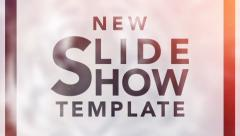 New Slide Show Template - stock after effects