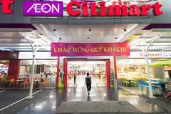 Supermarket Citimart, Saigon Stock Photos
