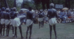Aborigines Dance 60s Australia Sydney 4 Stock Footage