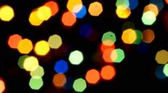 Bokeh lights Stock Footage