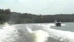 WAKEBOARD_BIG AIR - stock footage