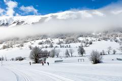 Stock Photo of Ski Season
