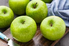 Stock Photo of Green apples