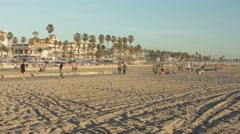 Beach Activities, Timelapse Stock Footage