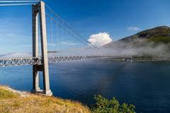 Kvalsund bridge Stock Photos