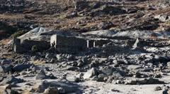 Ireland Wicklow Ruins Stock Footage