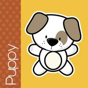 Baby puppy Stock Illustration