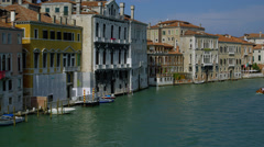View of Grand Canal - stock footage