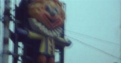 Blackpool Pleasure Beach Street Szene 70s 80s 16mm Stock Footage