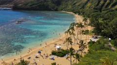 hanauma bay - stock footage