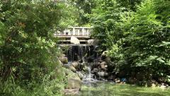 Prospect Park Binnen Falls Medium Stock Footage