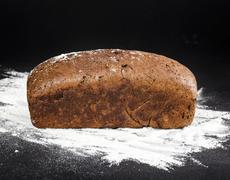 brown bread - stock photo