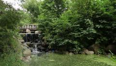 Prospect Park Binnen Falls Wide Stock Footage