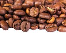 Fresh aromatic coffee beans Stock Photos