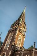 Church of St. Elizabeth Lvov Stock Photos