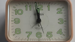 Old Clock Ticking Ticktock - stock footage