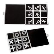 set tic-tac-toe symbol of man and woman of masculine and feminin - stock photo