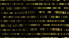 4k Abstract gold metal matrix,digital golden chain materials,big data wall. Stock Footage
