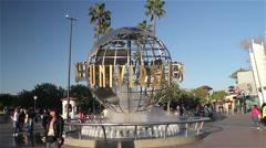 UNIVERSAL STUDIOS, UNIVERSAL CITY LOS ANGELES, CALIFORNIA, USA Stock Footage