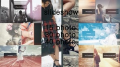 15/30/40 Photo Slideshow Stock After Effects