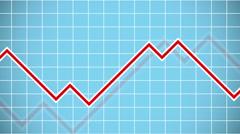 Business Statistics Chart Stock Footage