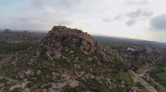 People from Hampi. Stock Footage