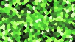 Green Background Blocks Stock Footage
