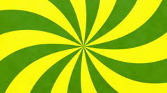Retro Colored Spinning Pinwheel - Animation - stock footage