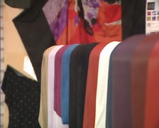 Tanned and dyed leather, in various designs and textures + zoom in - stock footage